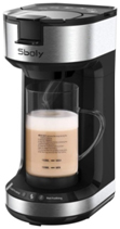 Single Serve Coffee Maker & Milk Frother