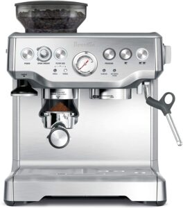 Breville BES870XL Barista Express Espresso Machine With Built In Grinder