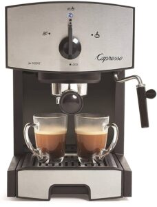 Capresso 117.05 Stainless Steel Pump Espresso Machine