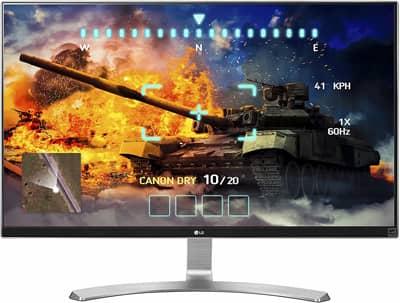 LG 27UD68-W 4K UHD IPS Monitor