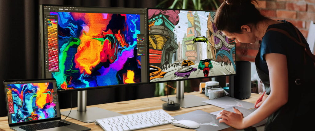 Monitor for Graphic Designing