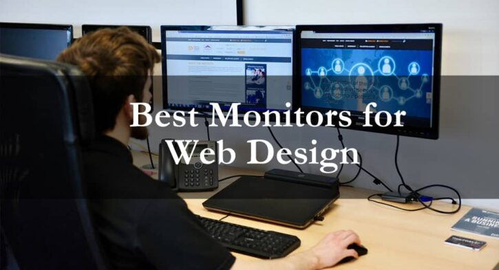 Best monitors for web design