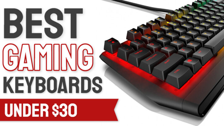 best gaming keyboards under $30