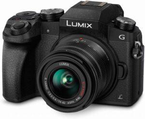 Panasonic Black Lumix G7 4K HD Mirrorless Camera