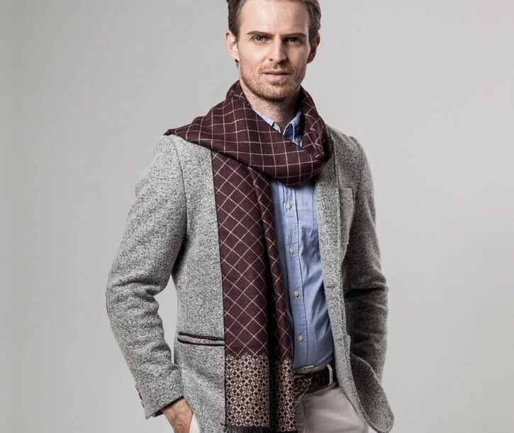 7 Best Men's Cashmere Scarf to Buy in 2021 1