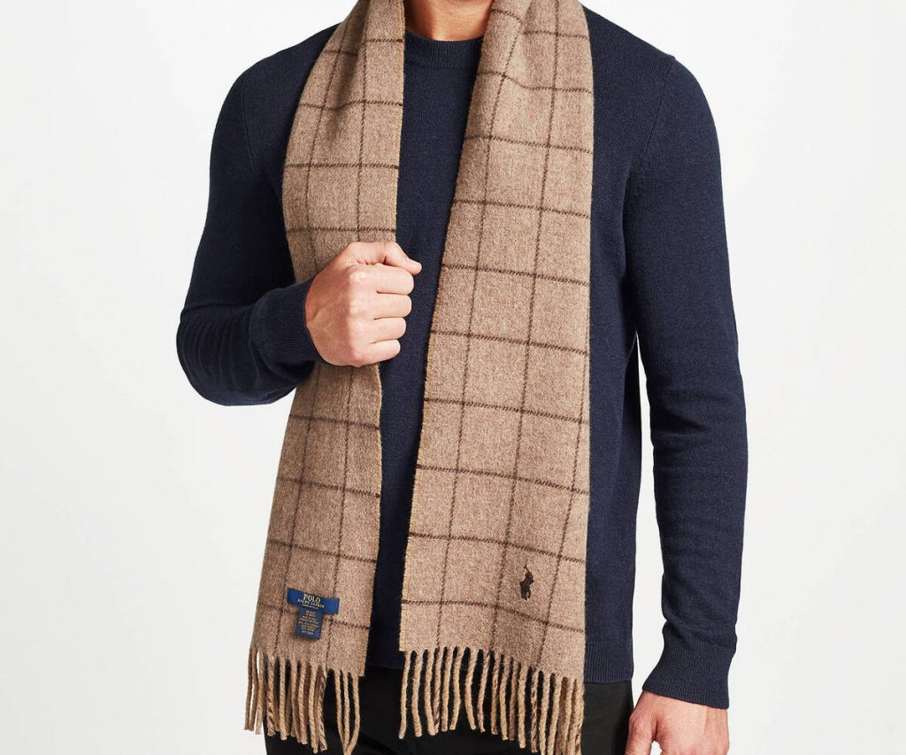 7 Best Men's Cashmere Scarf to Buy in 2021 3